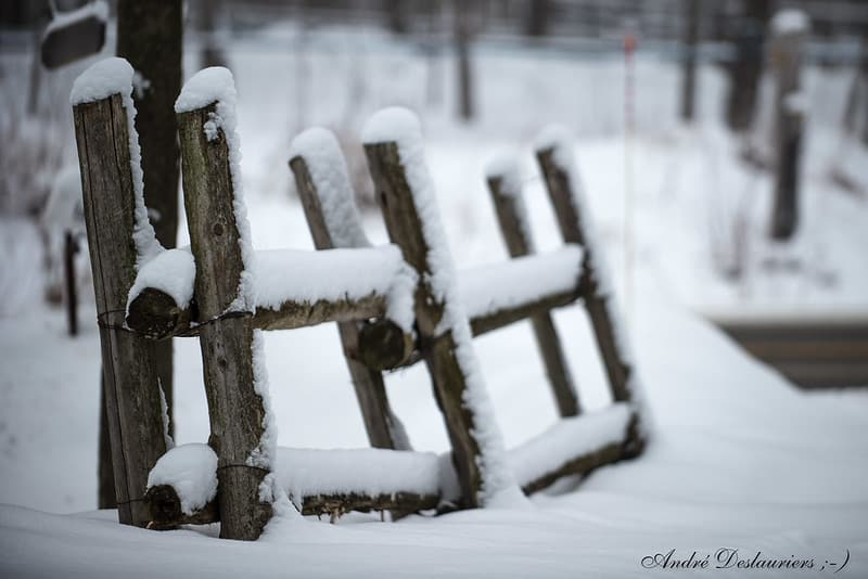 protect fence from freezing weather