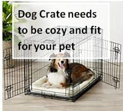 dog crate with divider