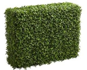 faux hedge privacy screen