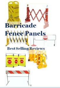 Barricade fence panel