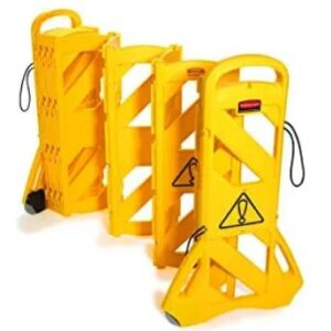 crowd control barriers retractable