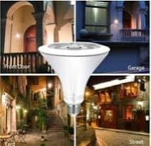 best led motion sensor outdoor lights
