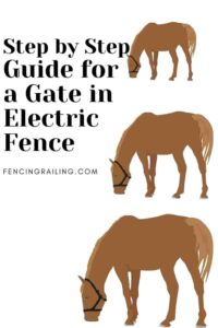 how to install electric fence for horses