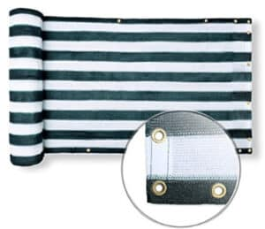 outdoor privacy screen fabric
