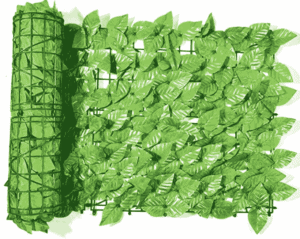 artificial faux ivy leaf privacy fence