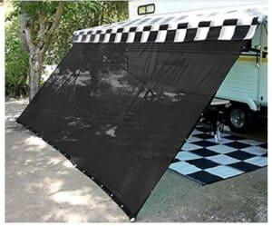 rv awning shade screen