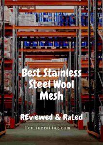 Best grade steel wool for mice