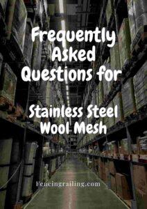 stainless steel wool roll