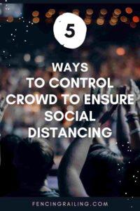 Social distance barriers