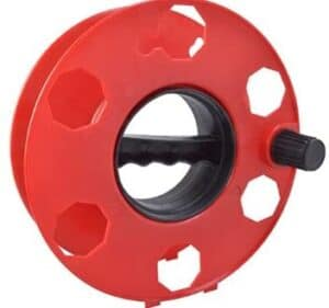 geared electric fence reel