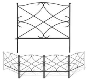 front garden fence metal
