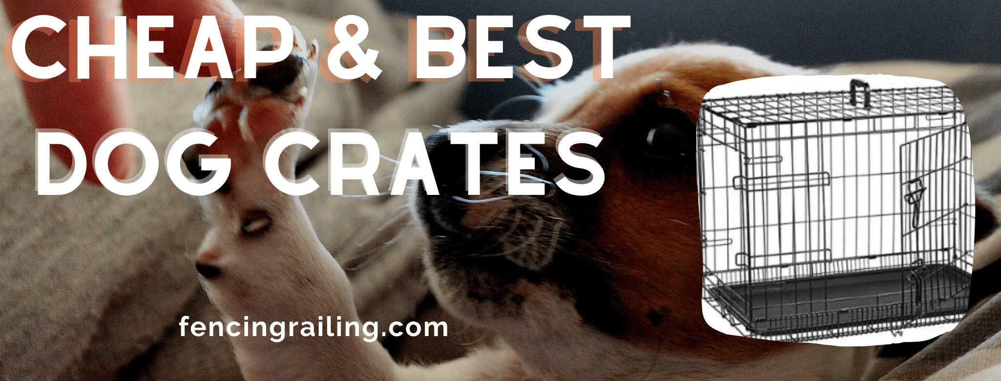 best Dog crate under $60