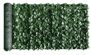 faux ivy privacy fence