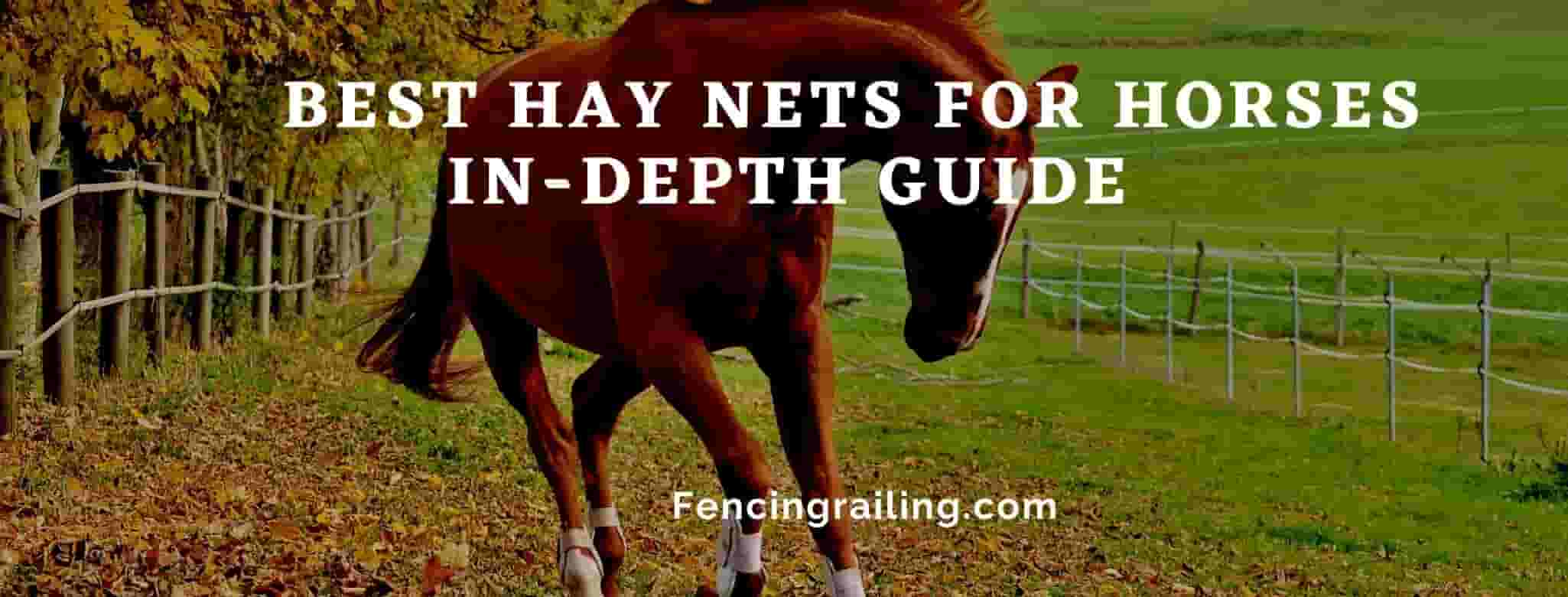 best hay nets for horses