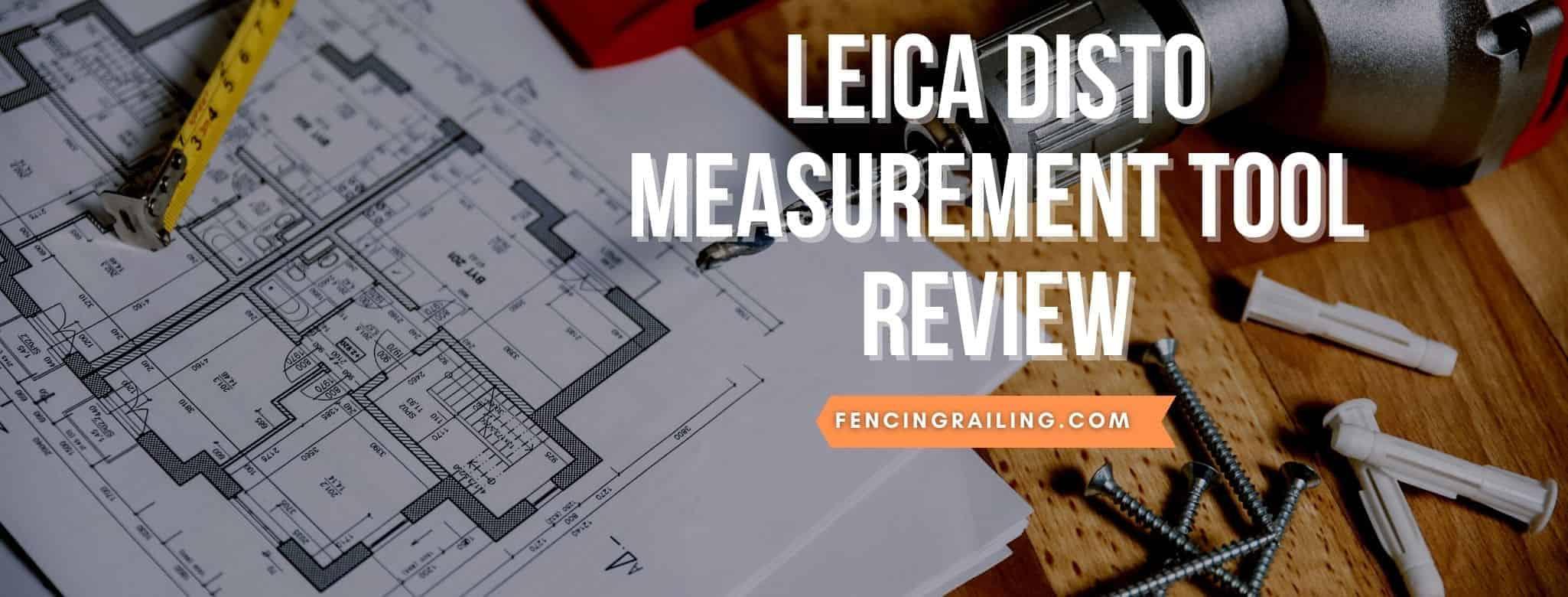 leica laser measuring tool