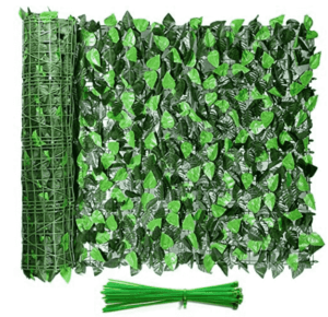 artificial hedge fence panels