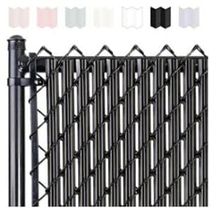 privacy panels for chain link fences