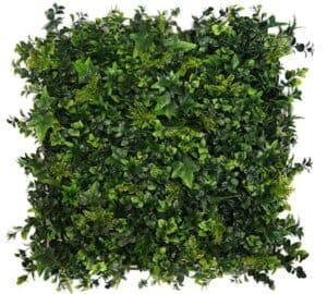 artificial moss fence panel