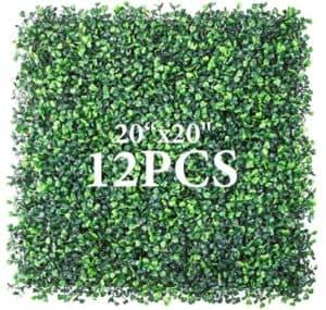 artificial greenery wall panels
