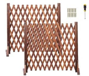 Retractable Expanding Fence