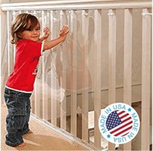 high-rise balcony safety net