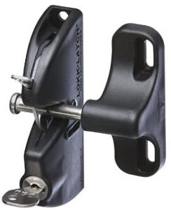 gate latches for chain link fence