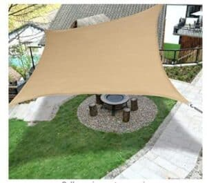 best outdoor shade sails