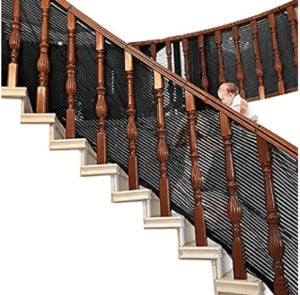 baby safety net for stairs