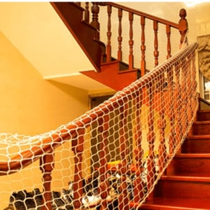 child safety net for stairs