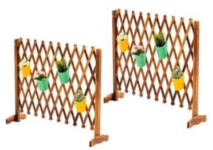 freestanding lattice wall