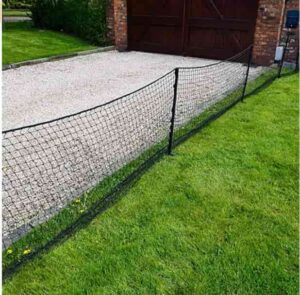 play area driveway safety net