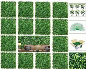 artificial grass wall panels outdoor