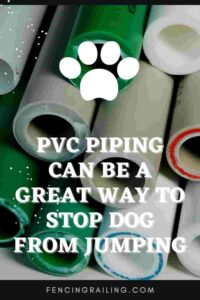 how to stop dog jumping fence