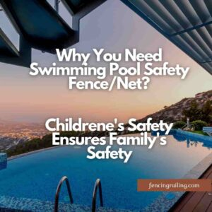 pool safety fence mesh