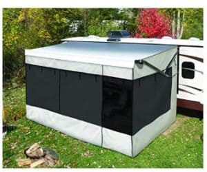 rv awning shade with zipper