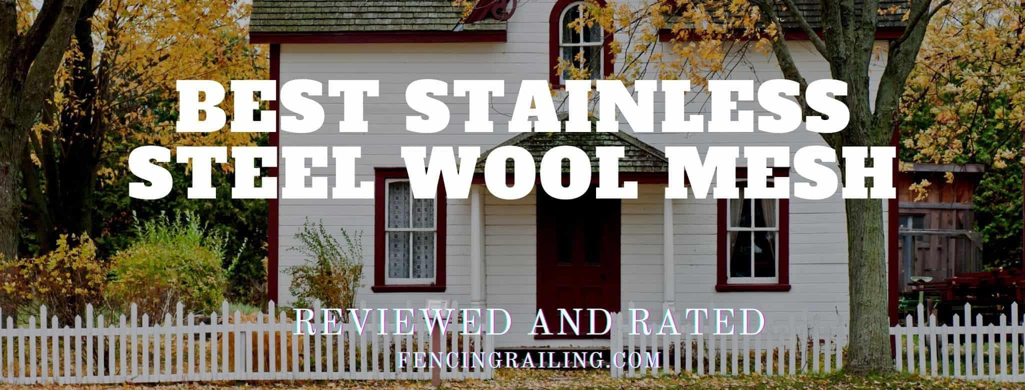 Stainless steel wool mesh