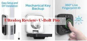 ultraloq u-bolt pro smart lock review