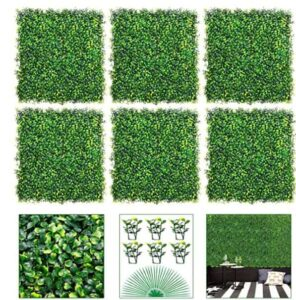 best artificial boxwood hedge
