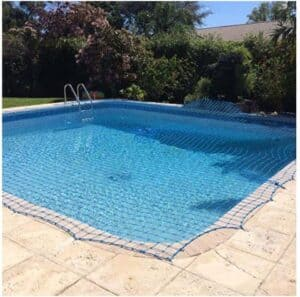 Child safety mesh pool fence